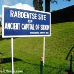 The Rabdantse Ruins ancient capital of Sikkim