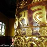 Giant Praying Wheel at the Pemiyangshi Monastery Sikkim
