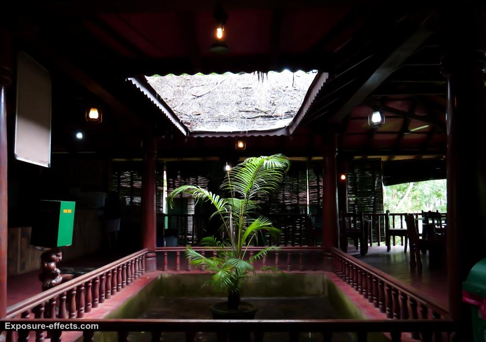 Dubare Elephant Camp Jungle Lodges and Resorts Cottage dining area