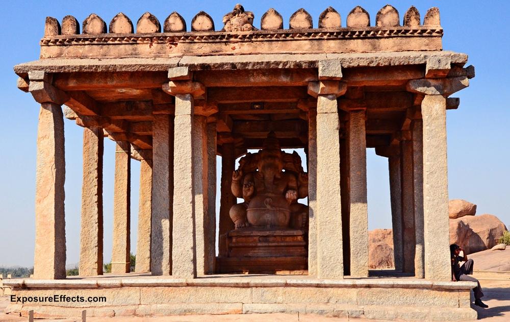 Hampi Karnataka in India