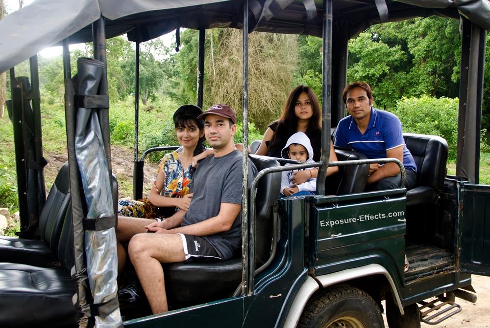 Jeep Safari at Jungle Lodges and Resorts Dubare Elephant Camp