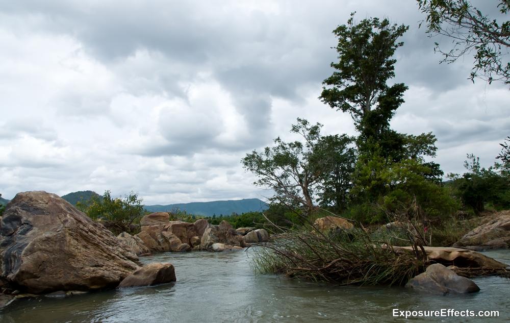 Near Shivasamudram Bharachukki Falls Karnatak