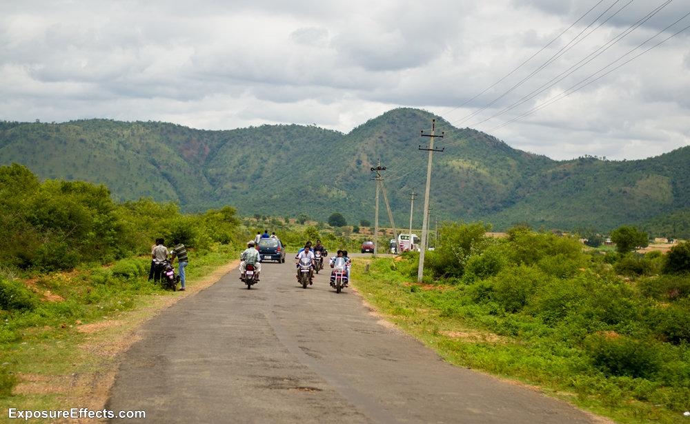 Road to Shivasamudram Falls