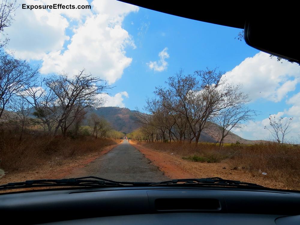 Towards Himavad Gopalaswamy Hills - Karnataka