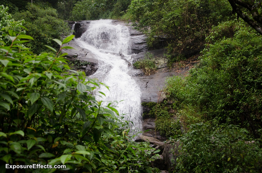 Misty Woods Coorg Resorts Waterfall within the Estate