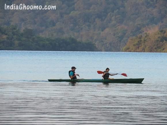 Sharavathi Adventure Camp - Kayaking