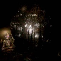 Shivling inside Kavala Caves in Dandeli