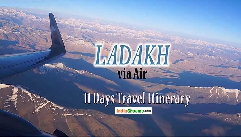 Ladakh Travel Itinerary