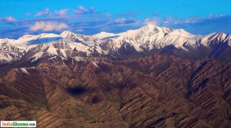 Ladakh Via Air