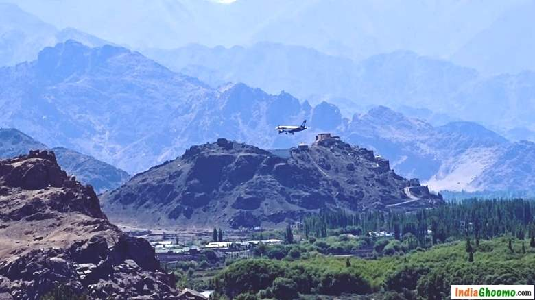 Worlds most scenic Airport Leh India