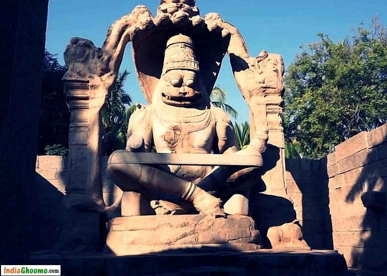 Hampi Sacred Centre - Ugra Narsimha