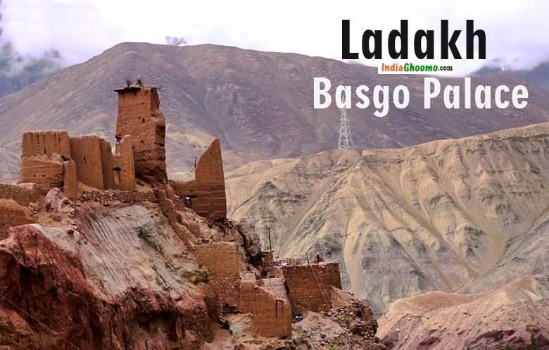 Ladakh - Basgo Monastery and Basgo Palace