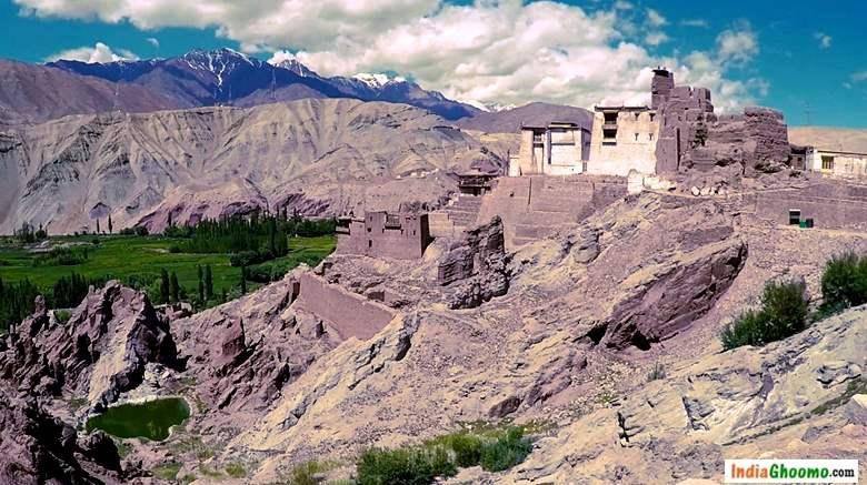 Ladakh - Basgo Palace Basgo Monastery