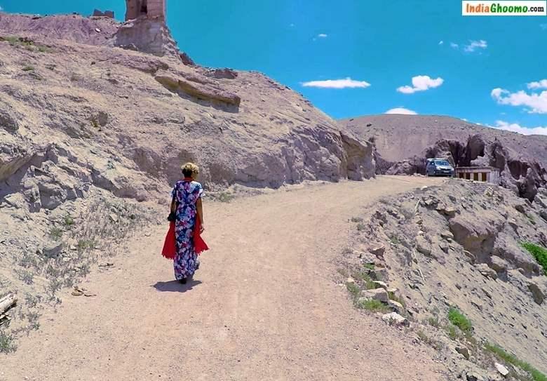 Ladakh How to Reach Basgo Monastery and Palace