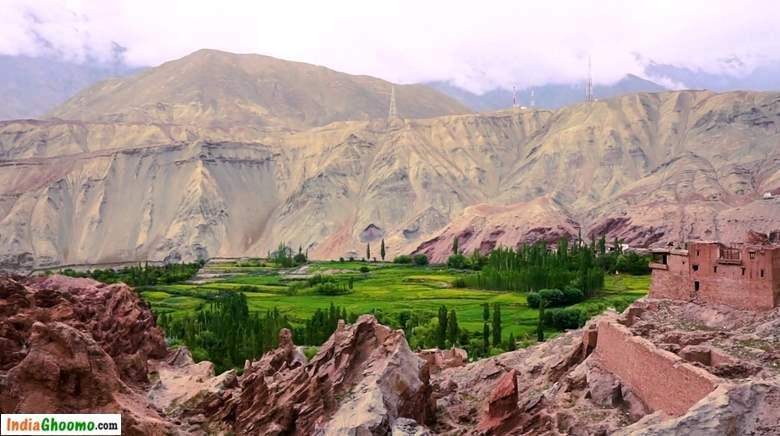 Ladakh Sham Valley Basgo Palace