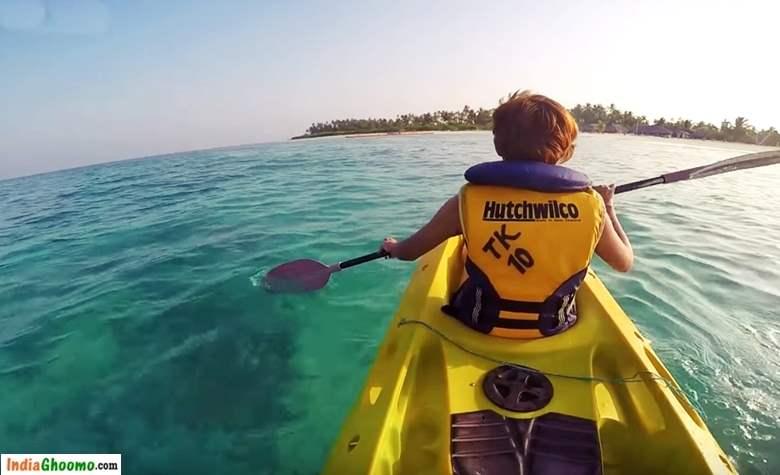 Lakshadweep – Kayaking