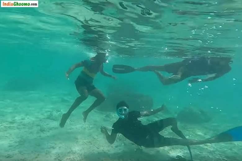 Lakshadweep – Ship Wreck Snorkeling at Thinnakara Island