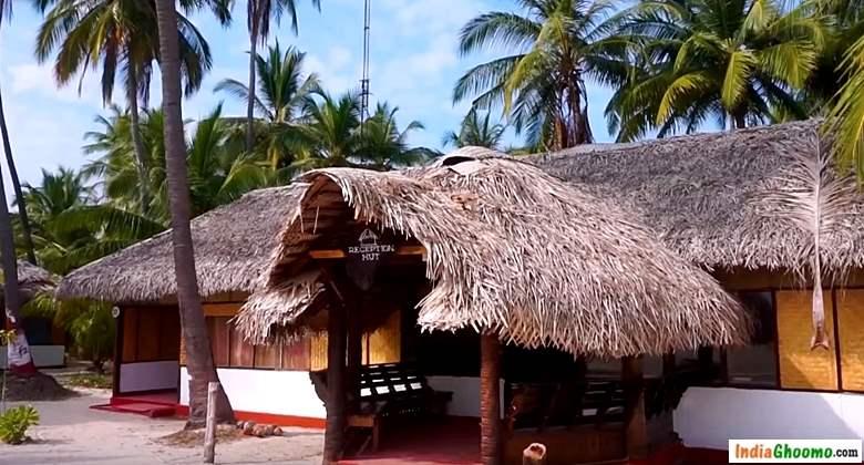 Lakshadweep Bangaram accommodation