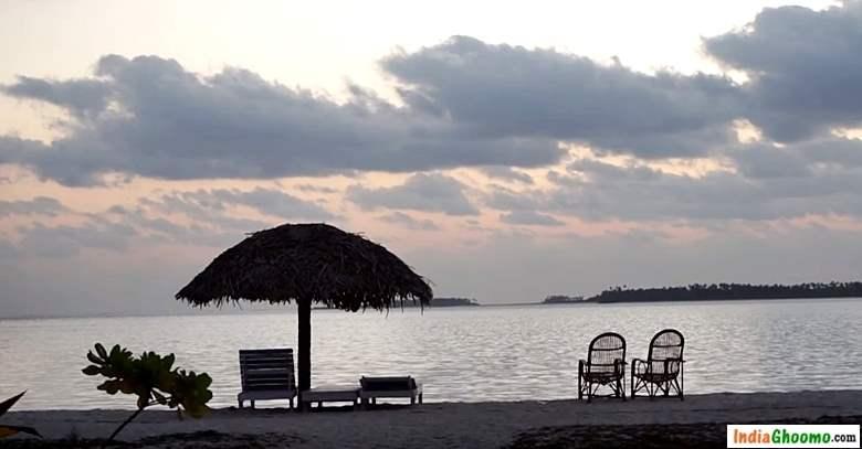 Lakshadweep Bangaram island Sunrise