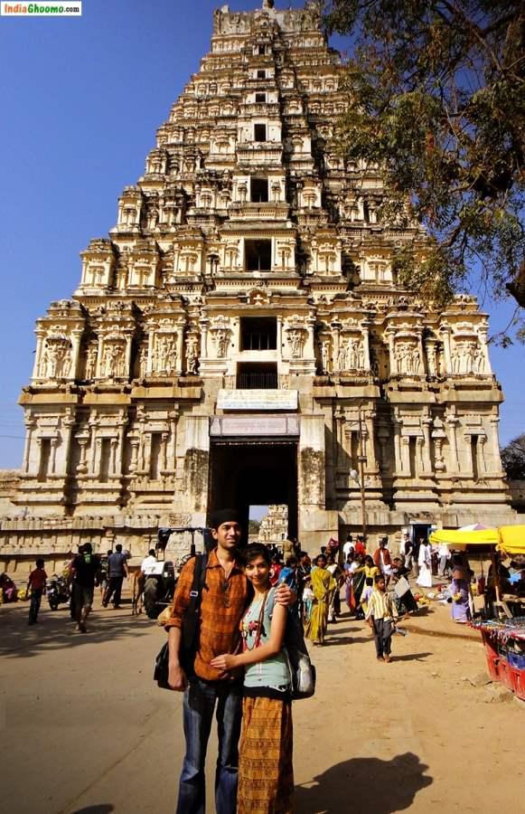 Virupaksha Temple Hampi Karnataka Gopuram