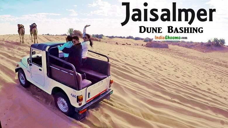 Jaisalmer Dune Bashing at Sam Sand Dunes