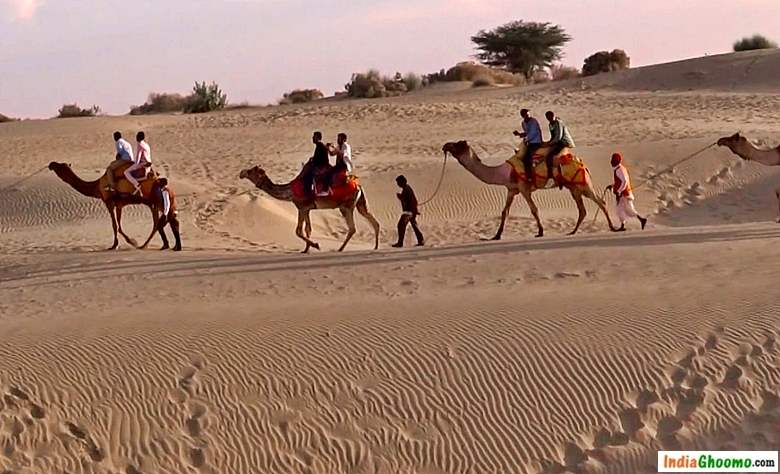 Jaisalmer Sam Sand Dunes