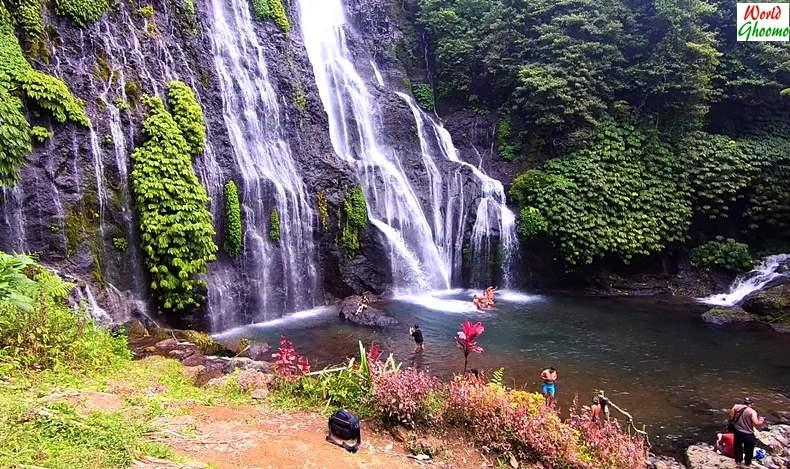 Bali Waterfalls Banyumala Twin Waterfall