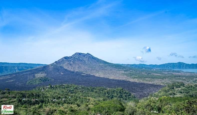 Kintamani Mount Batur viewing point
