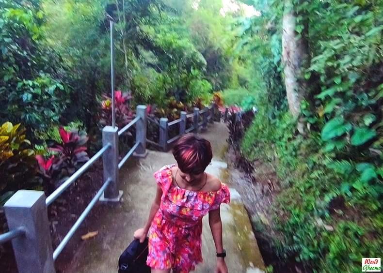 Bali Waterfall Tibumana in Ubud
