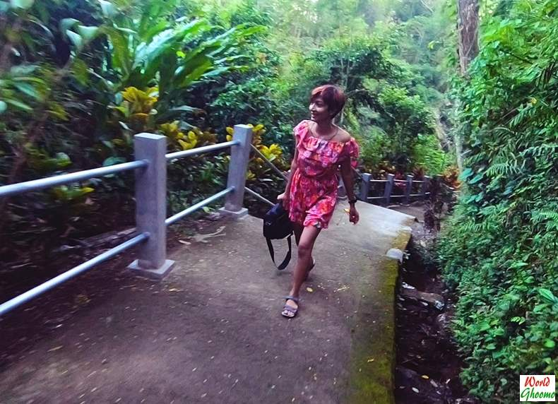 Hike to Tibumana Waterfall Bali