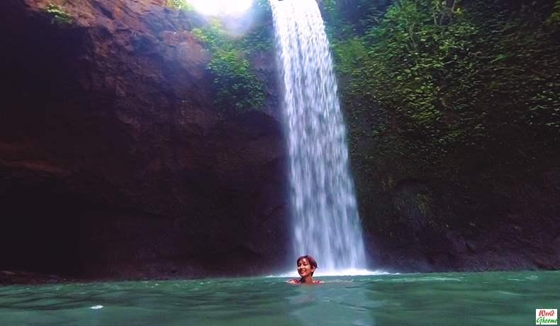 Tibumana Waterfall in Bali Ubud