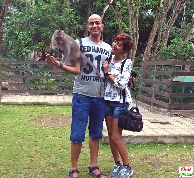 Ubud Monkey Forest -World Ghoomo Sarita Kamal
