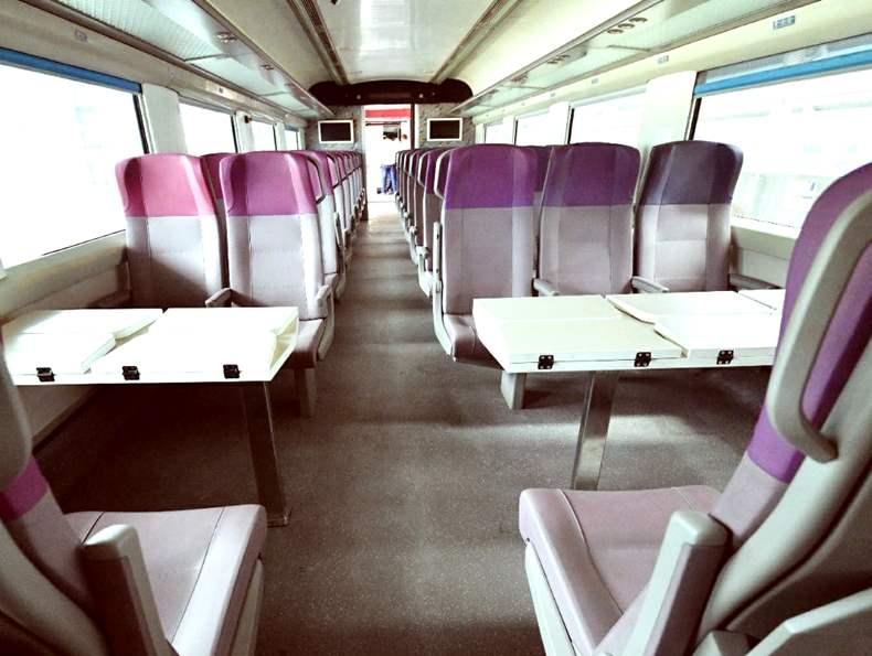 Inside Vande Bharat Express Delhi-Katra route