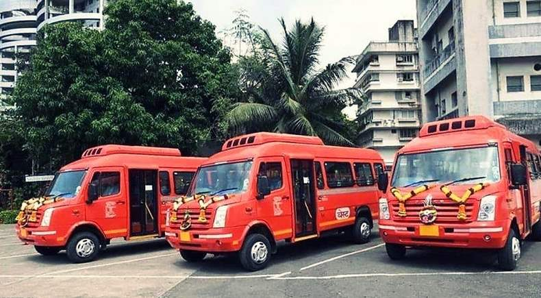 Mumbai - BEST launches AC Mini Buses