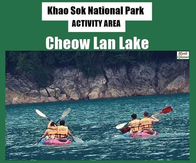 Activities at Cheow Lan Lake