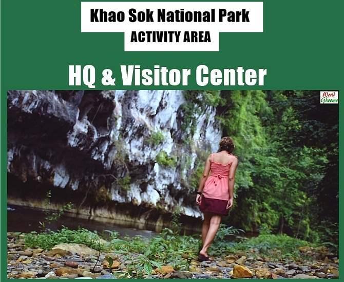 Activities at Khao Sok National Par Headquarters