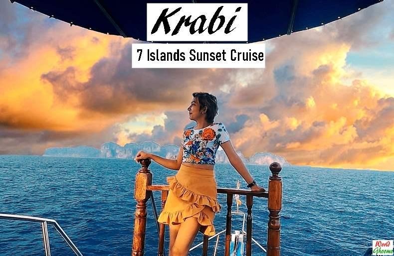Krabi 7 Islands Sunset Cruise