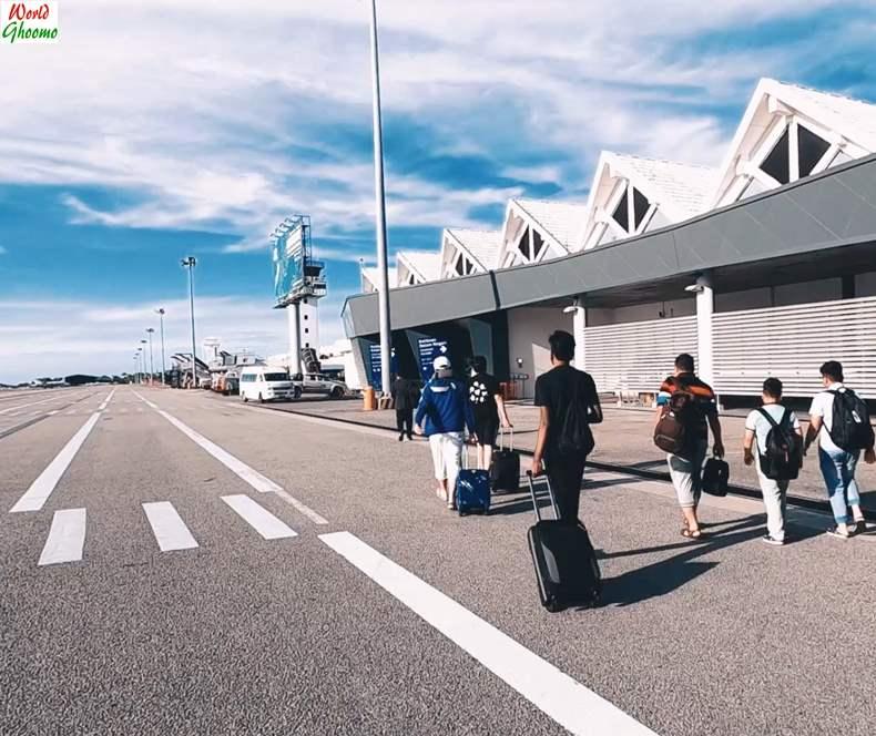 Langkawi Airport arrivals