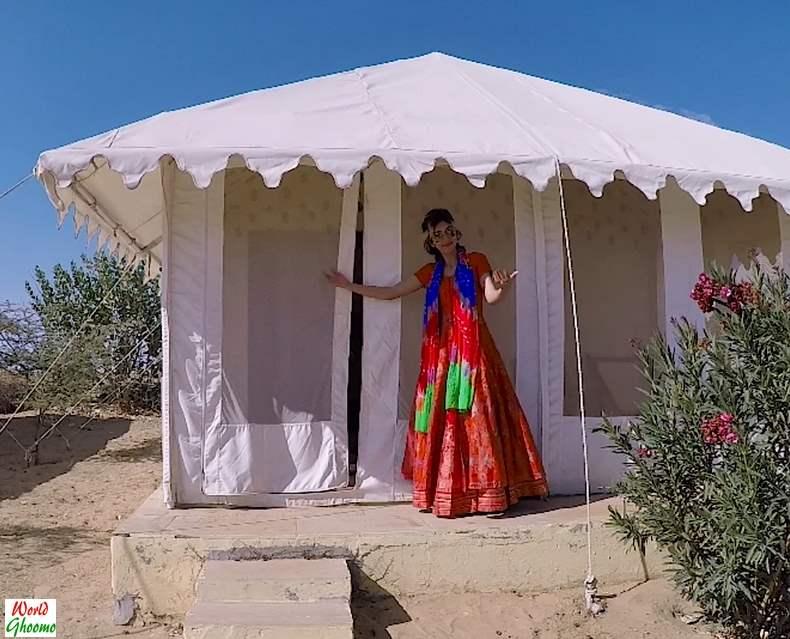 Desert camp rajasthan