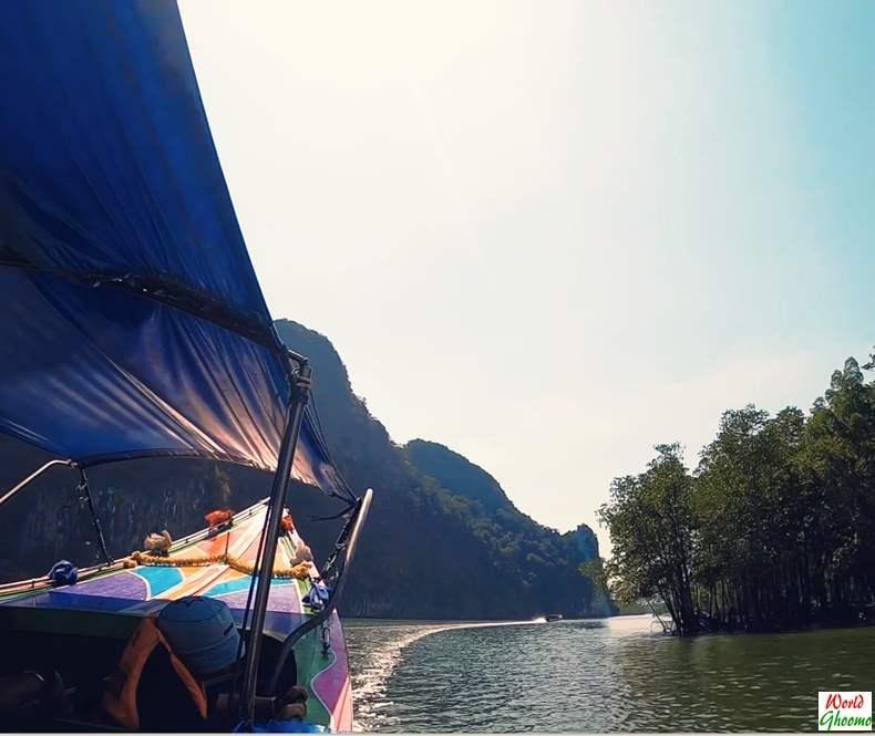 Cruise through Phang Nga Bay