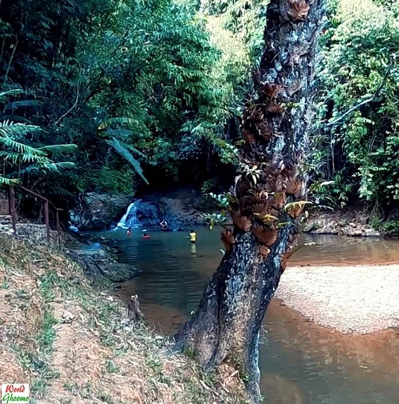 Waterfall in Phang Nga