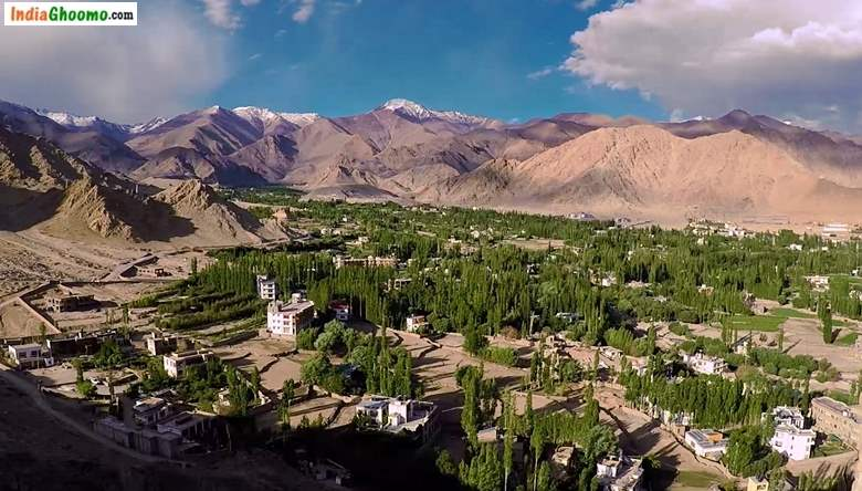 Leh City Landscape